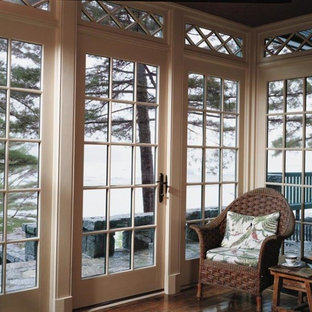 Inspiration for a timeless enclosed family room remodel in San Francisco with no fireplace and no tv