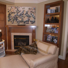 contemporary family room by Cynthia Taylor-Luce