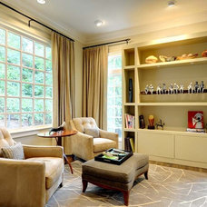 Contemporary Family Room by The Consulting House Inc.