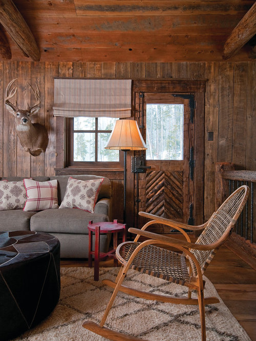 Front Rooms Designs: Log Cabin Style Front Door Home Design Ideas, Pictures