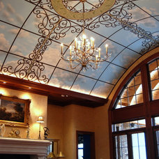 Traditional Family Room by Wow Effects-Murals and Fine Art