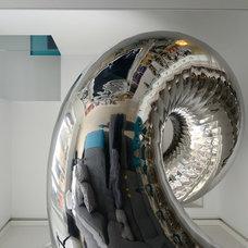 Contemporary Family Room by David Hotson Architect