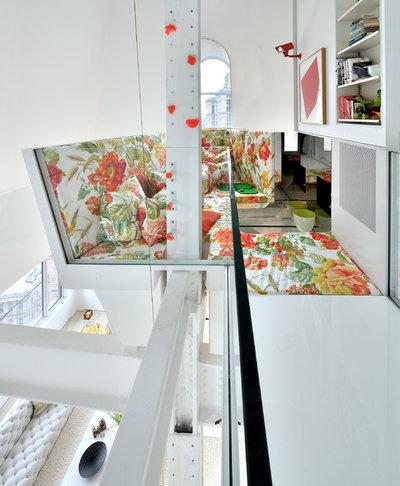 Skandinavisch Wohnzimmer by David Hotson Architect