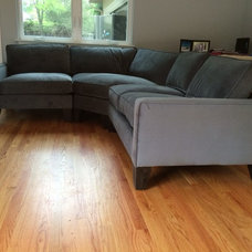 Contemporary Family Room by Monarch Sofas
