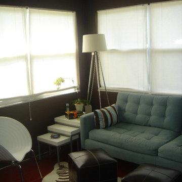 Small tv room