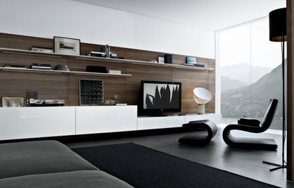 Contemporary Family Room by Poliform USA