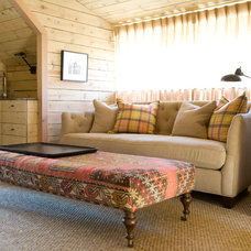 Eclectic Family Room by Space Planning and Design, Inc