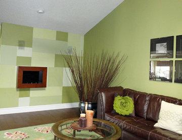Social Gathering- TV, Fireplace, Wine