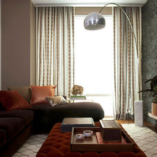 Contemporary Family Room by Katie Lydon Interiors