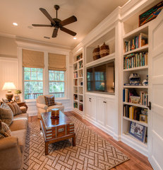 traditional family room by Solaris Inc.