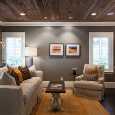 Traditional Family Room by Peter Lyons Photography