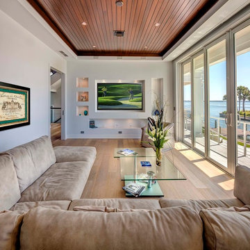 Sophisticated Island Style home with Contemporary Interiors on Longboat Key
