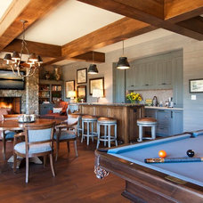 Traditional Family Room by Platt Architecture, PA