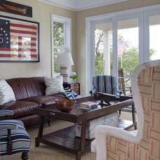 Beach Style Family Room by Colby Construction