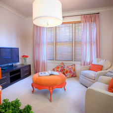 Eclectic Family Room by Westend Interiors