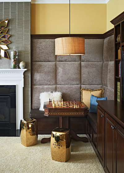 Contemporary Family Room by Jennifer Harvey Interiors