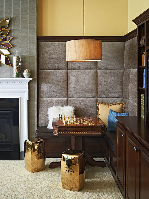 Game table in living room home design ideas pictures remodel and decor for Small game table in living room