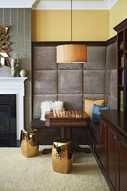 Contemporary Family Room by Jennifer Harvey Interiors