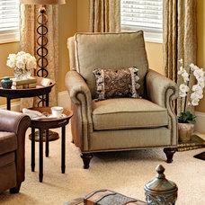 Traditional Family Room by Jennifer Harvey Interiors
