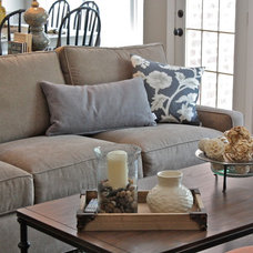Traditional Family Room by Ally Whalen Design