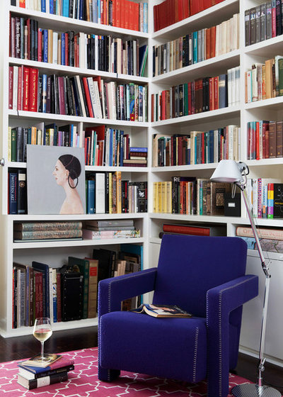 Contemporary Family Room by Kate Challis Interiors