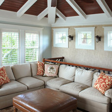 Traditional Family Room by Soleil Design Build, Inc.