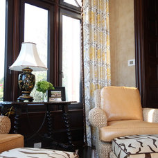 Traditional Family Room by Ashley Heath Design
