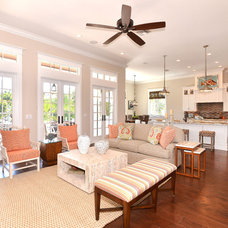 Beach Style Family Room by Javic Homes