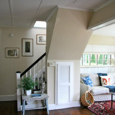 Traditional Family Room by Spaces by LLG