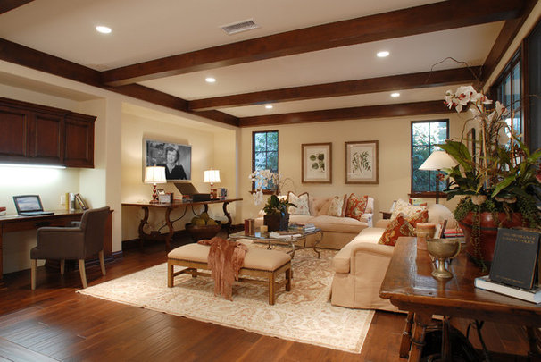 Mediterranean Family Room by Structure Home