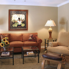 Traditional Family Room by Talianko Design Group, LLC