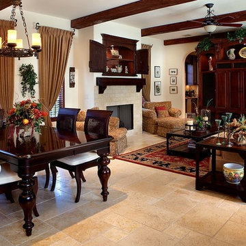 Spanish Style Home by Bud Lawrence & Bobby Morales