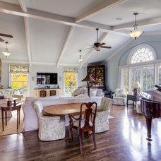 Traditional Family Room by David Rosenkranz Custom Homes
