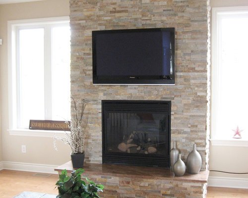 saveemail - Stone Cladding Fireplace