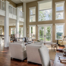 Traditional Family Room by Dreamstructure DesignBuild