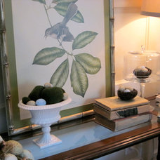 Eclectic Family Room Spring Vignette #2