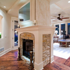 Traditional Family Room by Schrader & Companies
