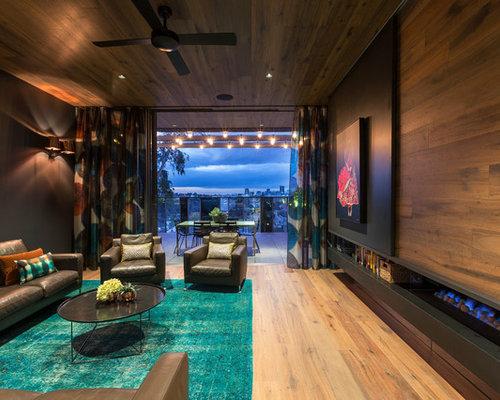 Contemporary Family Room Design Ideas, Renovations & Photos