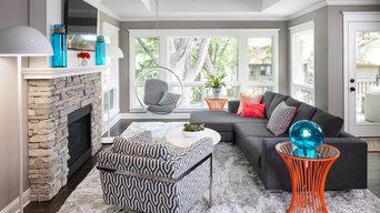 St. Louis Park Living Room