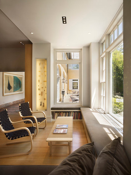 Modern Family Room by Aleck Wilson Architects