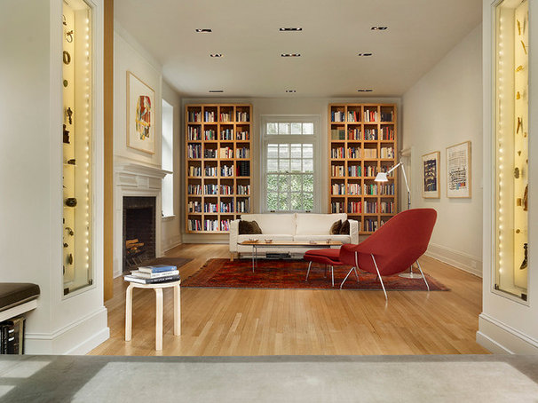 Modern Family Room by Verner Architects