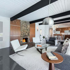 Contemporary Family Room by House & Homes Palm Springs Home Staging