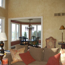 Traditional Family Room by Fabulous Finishes Inc