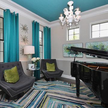Starkey Ranch - Sheridan Model Living Room
