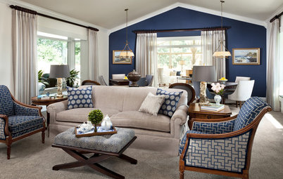 Classic Color Duo: Blue and White
