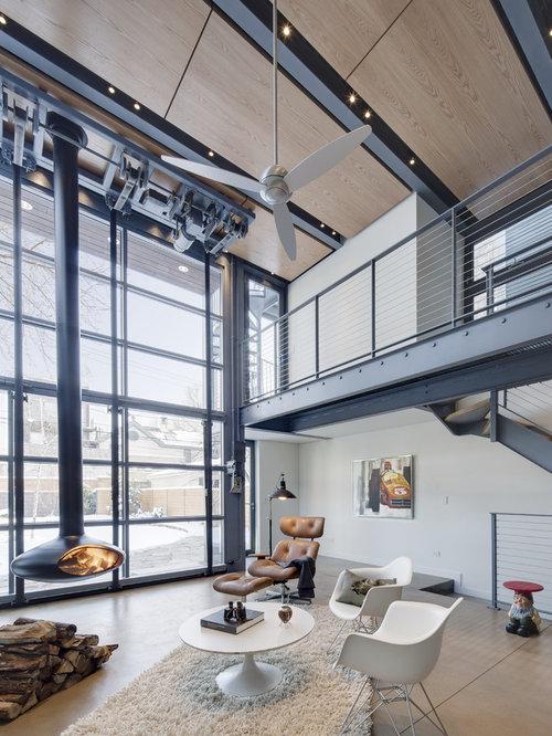 91 Industrial Enclosed Living Design Photos