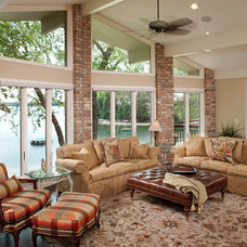 Traditional Family Room by Ispiri Design-Build