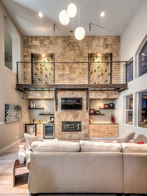 Stone Fireplace Wall Houzz