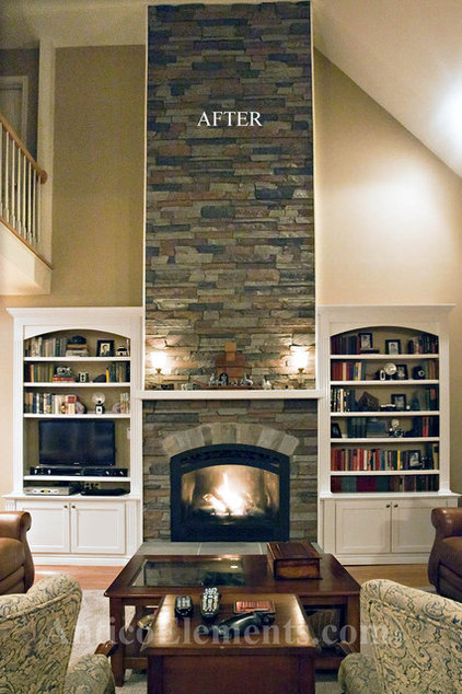 Traditional Family Room by Antico Elements