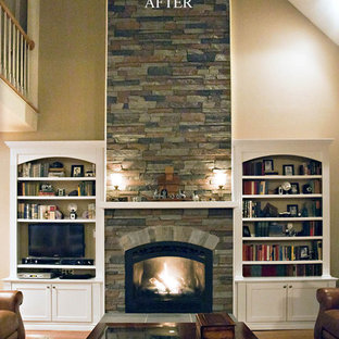 Faux Stone Panels For Fireplaces Houzz